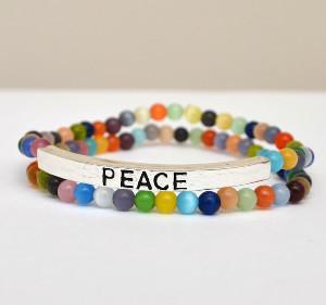 how to make a boho bracelet with beads