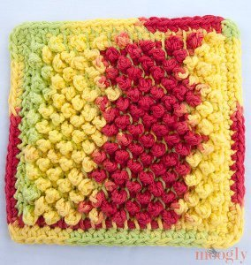 Pretty Pebbles Dishcloth