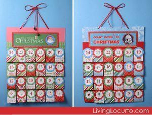 Printable Advent Calendar and Activities