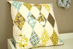 Harlequin Pillow Tutorial