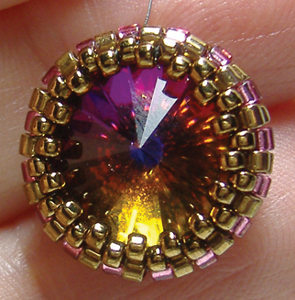 How to Make a Peyote Bezel