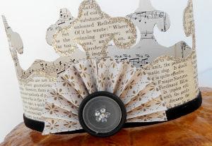 Vintage Paper Crown | AllFreePaperCrafts.com