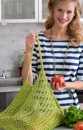 Mesh Knit Market Bag