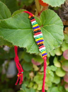 Woven Beads Friendship Bracelet