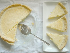 Old Fashioned Amish Lemon Sponge Pie
