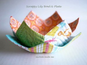 Lovely Lily Bowl and Plate
