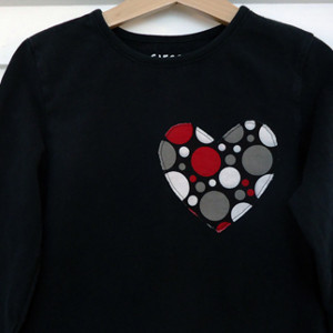 Sewn with Love Appliqued Tee