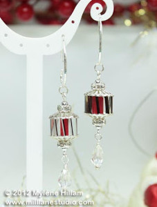 Crystal Lantern Earrings