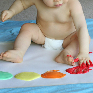 Scented Edible Finger Paint