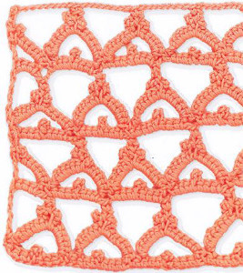 Crown Lace Stitch Pattern