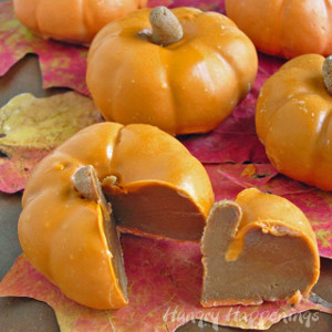 Chocolate Caramel Pumpkins