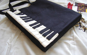 The Piano Shoulder Bag