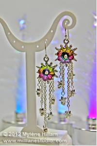 Aurora Starburst Earrings