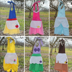 6-for-1 Princess Apron Tutorial