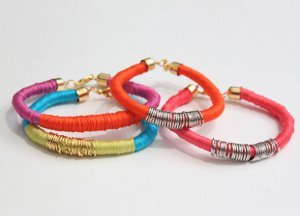 Wrapped Jump Ring Bracelets