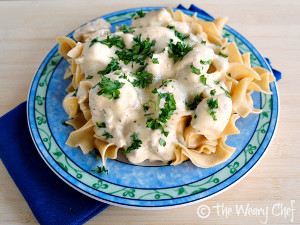 Dump and Go Chicken Stroganoff