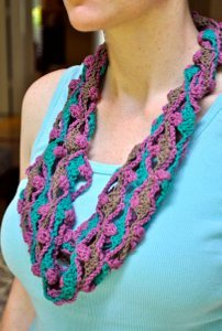 Out of this World Lattice Cowl