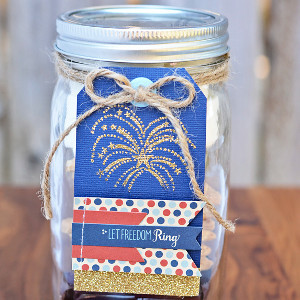 Shimmer and Shine Fireworks Gift Tag