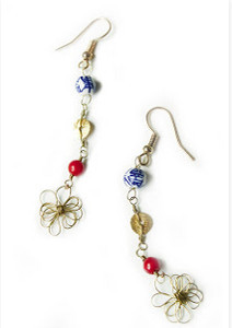 Japanese Dangle Earrings