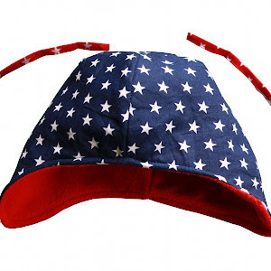 Star Spangled Toddler Cap