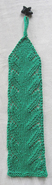 Lace Waves Bookmark