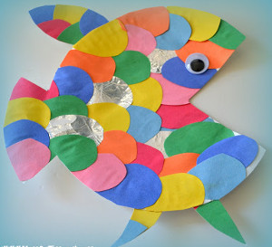 Colorful Scales Rainbow Fish