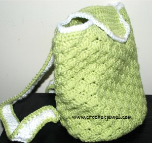 Perfect Crocheted Backpack