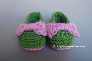 Baby Girl Bow Booties