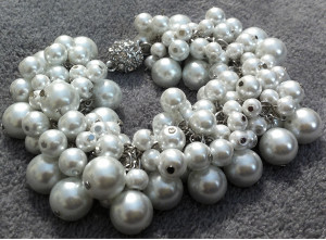 Chanel-Inspired Pearl Bracelet