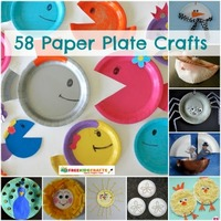 58 Paper Plate Crafts for Kids