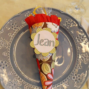 Place Card Party Favors