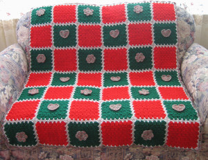 Christmas Sweetheart Afghan