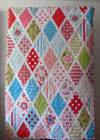 Sweet Divinity Diamonds Quilt