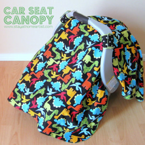 Dino-Riffic Car Seat Canopy