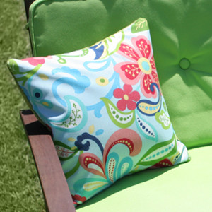 Patterned Pillow Cover in Minutes