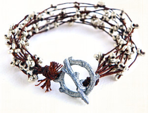 Silver Branches Bracelet