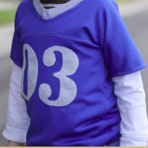 Kid Size Football Jersey