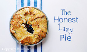 The Honest Lazy Pie