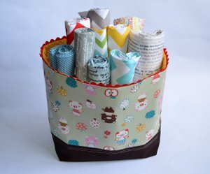 Basket Full of Fabric