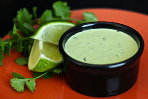 Our Version of Cafe Rio's Cilantro Ranch Dressing