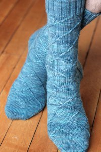 Knit Picky Patterns From Allfreeknitting : Business Casual Sock AllFreeKnitting.com