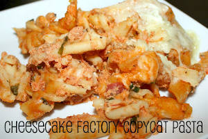 Cheesecake Factory Four Cheese Pasta Copycat
