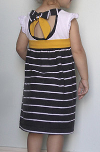 2 Tee Tie-Back Dress