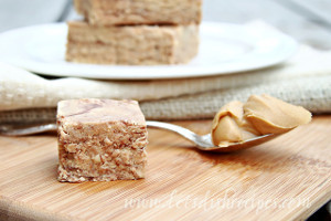 Effortless Peanut Butter Fudge