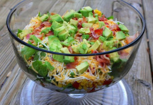Cowboy Layered Salad