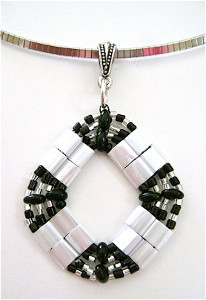 Tila and Ebony Pendant