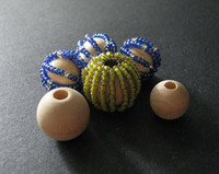 Making Bead Covered Beads