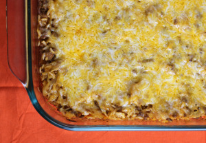 Easiest Layered Cabbage Casserole