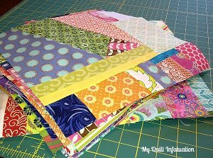 Speedy Scrappy Improv Quilt Blocks