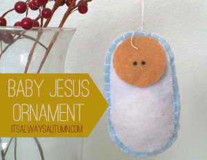 Little Baby Jesus Ornament